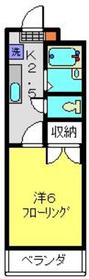 綱島駅 徒歩21分4階Fの間取り画像