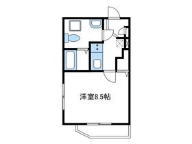 アリアビル3階Fの間取り画像
