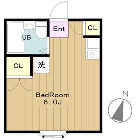 シエナ1階Fの間取り画像