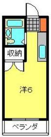 天王町駅 徒歩15分3階Fの間取り画像