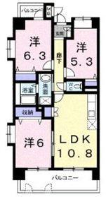 エクセレント・ティア3階Fの間取り画像