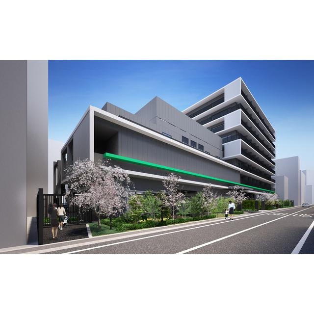 飯田橋ガーデンフラッツの外観画像