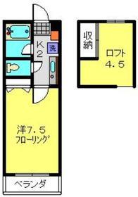 元住吉駅 徒歩23分1階Fの間取り画像