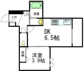 ファミーリエ3階Fの間取り画像