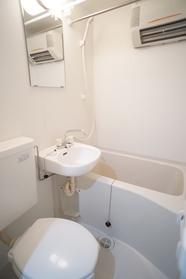 バス・トイレ・洗面が同室