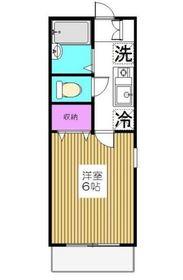 大倉山駅 徒歩3分1階Fの間取り画像