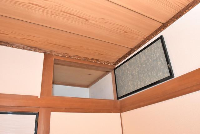 巽北1-29-14 貸家 もちろん収納スペースも確保。おかげでお部屋の中がスッキリ。