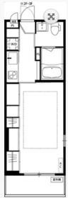 リブリ・アクシオン2階Fの間取り画像