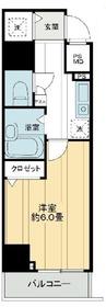 メインステージ日本橋小伝馬町4階Fの間取り画像