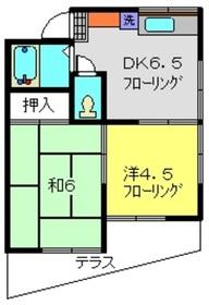 ホワイトアピア1階Fの間取り画像
