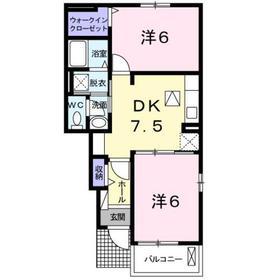 西八王子駅 バス13分「石神坂」徒歩5分1階Fの間取り画像