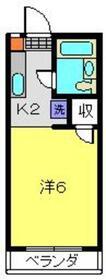 グリーンアピア2階Fの間取り画像