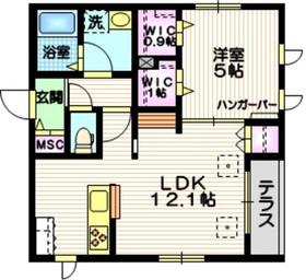 AlteLiebe・KAMATA1階Fの間取り画像