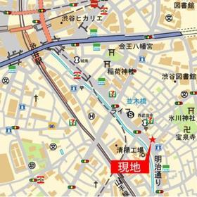 プライムレジデンス渋谷案内図