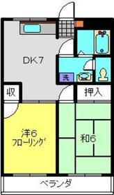 ソフィアマンション3階Fの間取り画像