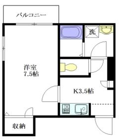 Maison Kimoto2階Fの間取り画像