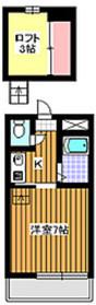 エクセルハウス2階Fの間取り画像