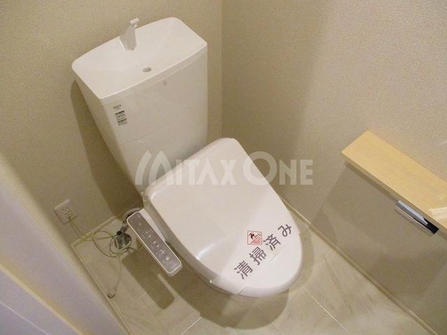 エクラージュ調布ワン(Ecrarge Chofu 1)トイレ