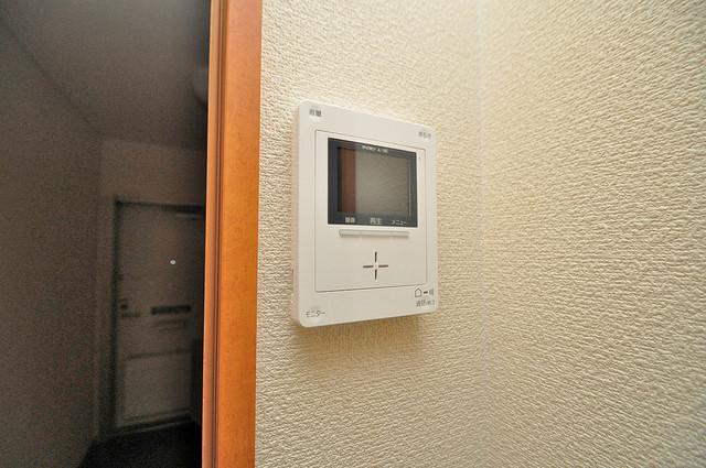 レオパレススズラン モニター付きインターフォンでセキュリティ対策もバッチリ。