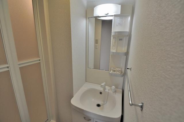 M'プラザ布施弐番館 人気の独立洗面所にはうれしいシャンプードレッサー完備です。