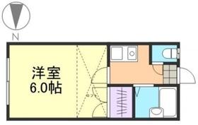 ボンシュマン1階Fの間取り画像