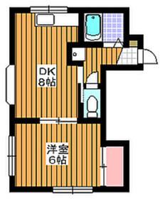 成増駅 徒歩6分1階Fの間取り画像