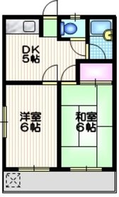 エルハーベン玉川台3階Fの間取り画像