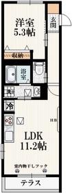 シャンテ・ラ・ブリーズ3階Fの間取り画像