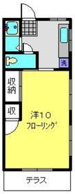 昭栄ホームズ1階Fの間取り画像