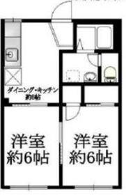 ドエル武田2階Fの間取り画像