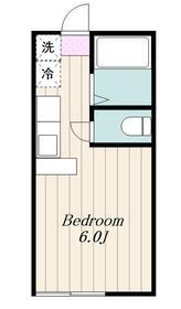 愛甲石田駅 車13分3.4キロ1階Fの間取り画像