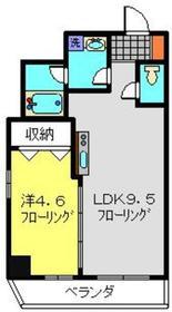 コルディア横濱サウス5階Fの間取り画像