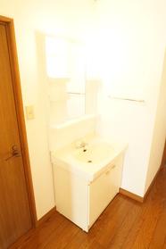 2階洗面台スペース