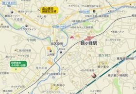 鶴ヶ峰駅 徒歩7分案内図