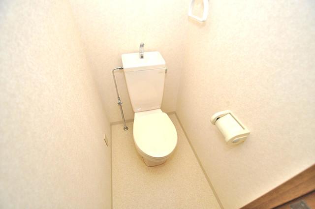 ヴィラサンライフ スタンダードなトイレは清潔感があって、リラックス出来ます。