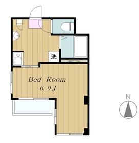 Villa Amour1階Fの間取り画像