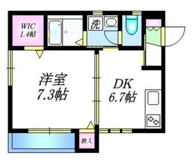 ツインリーフ本郷弥生3階Fの間取り画像