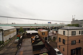 4階からの眺めです