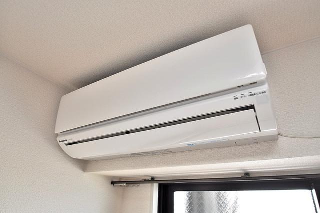 エンブレム巽西 エアコンが最初からついているなんて、本当に助かりますね。