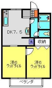 二子新地駅 徒歩29分3階Fの間取り画像