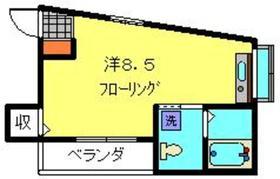 第8シバタハウス2階Fの間取り画像