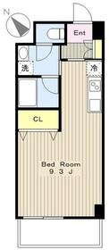 ヤママサ第8ビル3階Fの間取り画像