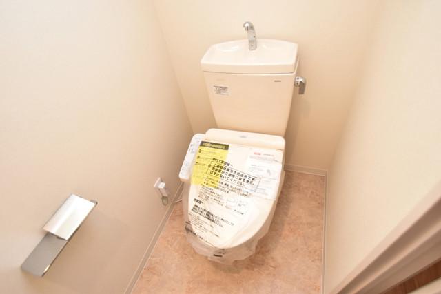 ハイツ ニッサク  清潔感たっぷりのトイレです。入るとホッとする、そんな空間。
