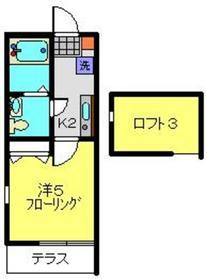 V Stage Ⅱ1階Fの間取り画像