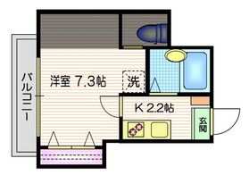 三軒茶屋駅 徒歩5分3階Fの間取り画像