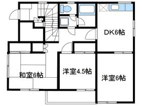 サンテラス平田2階Fの間取り画像