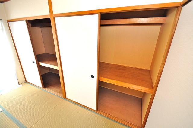 グランドメゾン樋口 各所に収納があるので、お部屋がすっきり片付きますね。