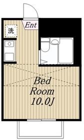 アパートメント悠2階Fの間取り画像