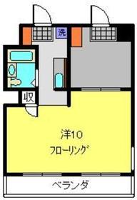 サンレイコート2階Fの間取り画像