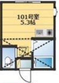 横浜駅 徒歩20分1階Fの間取り画像